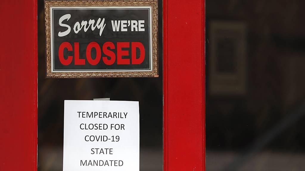 US-Arbeitslosenquote wegen Corona-Krise auf 14,7 Prozent gestiegen