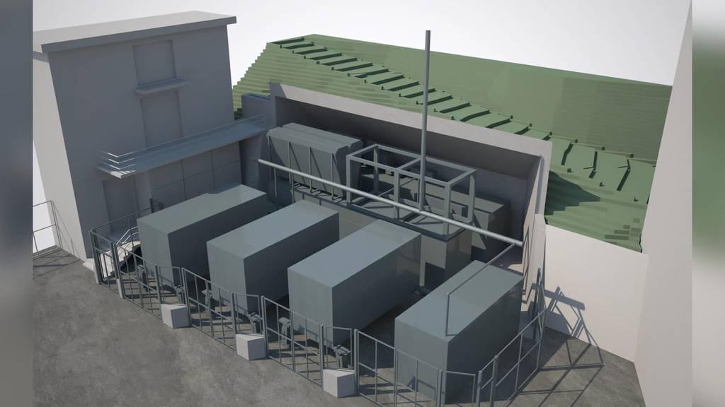 Spatenstich: Im St.Galler Kubel entsteht Wasserstoff-Anlage