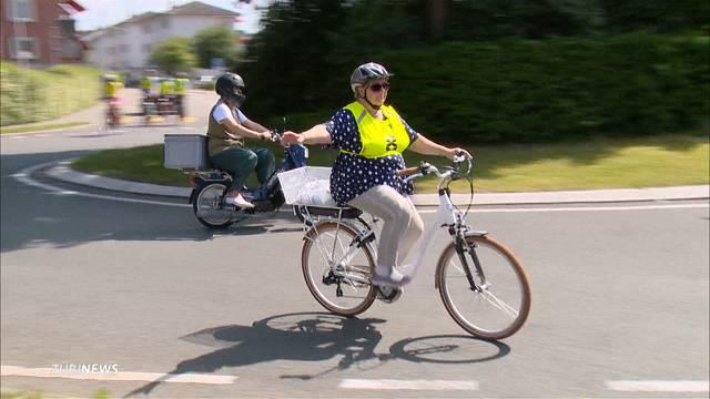 Mit Senioren-Kursen gegen massiv mehr E-Bike-Unfälle