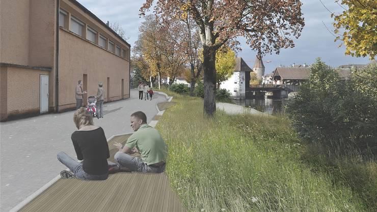 Das Gestaltungskonzept «Rolls Reuss 1» von Sabrina Kessler und Roman Lüssi hat die Jury des Evariste-Mertens-Preises 2018 überzeugt.