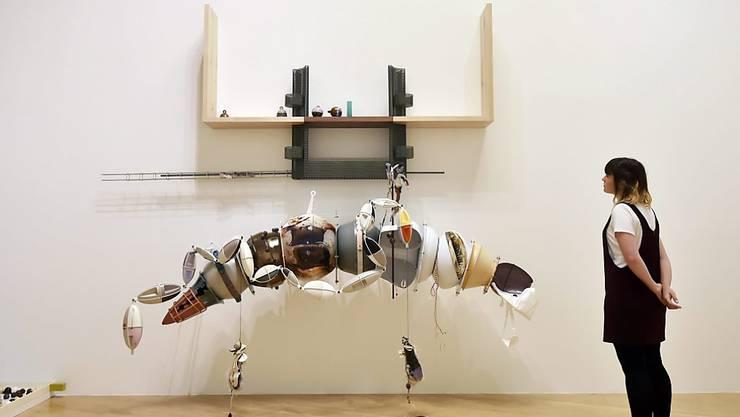 Installation der Preisgekrönten: Helen Martens Werk in London. (Archivbild)