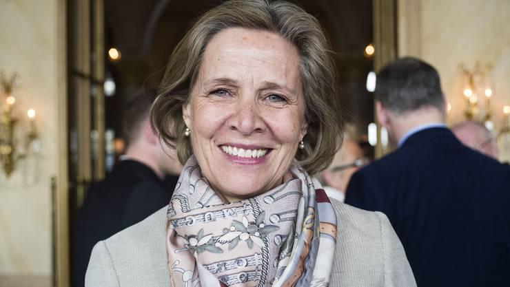Die 57-jährige Juristin und LDP-Grossrätin von Falkenstein gilt als aussichtsreichste bürgerliche Kandidatin in spe. (Archiv)