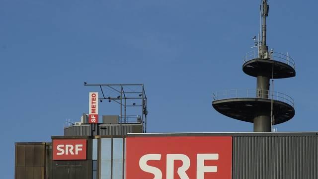 Der Hauptsitz des Schweizer Fernsehens in Zürich-Oerlikon (Archiv)