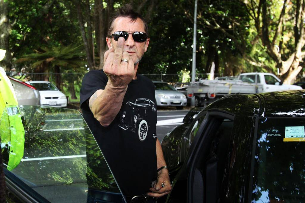 AC/DC-Schlagzeuger Phil Rudd (© Getty Images)