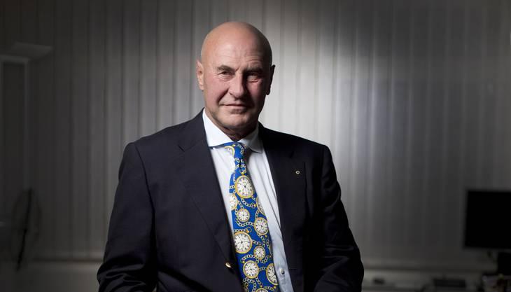 Anwalt Valentin Landmann fordert den Freispruch für Ulrich Schlüer.