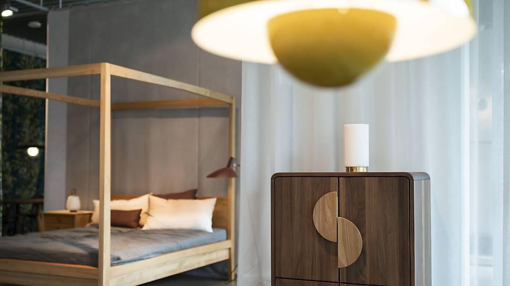 Möbelhändler profitieren von Corona: Möbel im Showroom Lochergut der Schweizer Möbelproduzenten Reseda (Bild von 2020).
