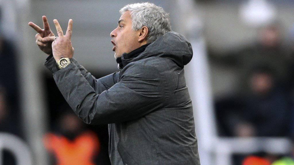 Das von José Mourinho gecoachte Manchester United patzt bei Aufsteiger Newcastle United