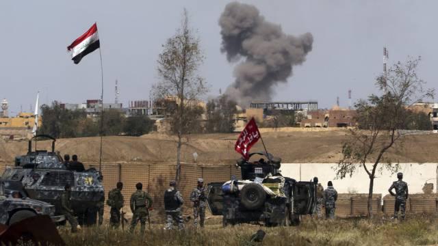 Setzen Offensive ohne Schiitenmilizen fort: Irakische Truppen