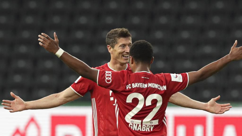 Double geholt: Bayern München gewinnt auch den deutschen Cup