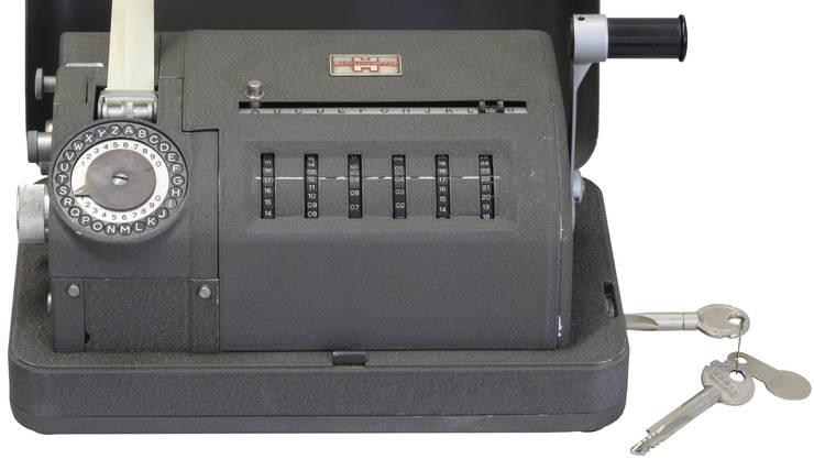 So sahen die Crypto-Geräte der 50er-Jahre aus. Noch heute funktioniert die Verschlüsselung in den Grundzügen gleich.