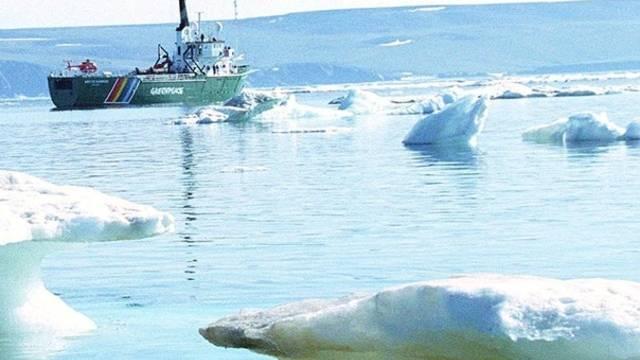 Russisches Schiff im Polarmeer (Archiv)
