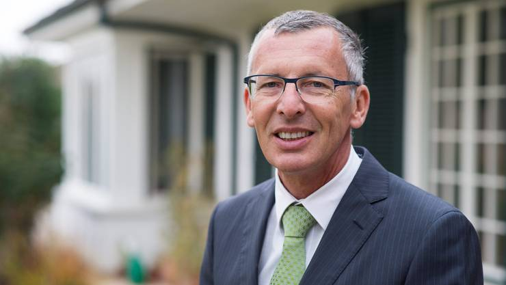 Konrad Widmer trat sein Amt als Verwaltungsratspräsident des Kantonsspital Aarau am 1. März 2016 an.