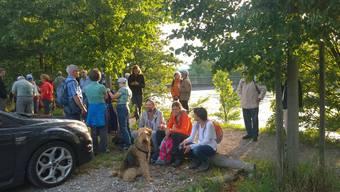 Rekord bei erster Abendwanderung: Über 200 Leser auf Suche nach Vollmond
