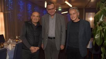 Stiftung Schmelzi: Stiftungsrat Beat Schmid (links), Stiftungspräsident Lukas Bäumle (mitte) treten ab. Roger Rossier (rechts) ist seit Sommer neuer Stiftungspräsident.