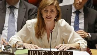 Druck auf Nordkorea erhöht: US-UNO-Botschafterin Samantha Power