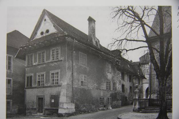 Die 1952 abgerissene Gibelinmühle wurde ebenfalls durch den Stadtbach betreiben