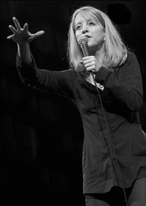 Jazzstar Maria Schneider bei einem Auftritt in Belgien.