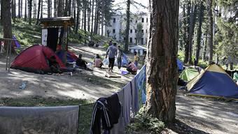 Bei der Kleinstadt Bihac in Bosnien-Herzegowina an der Grenze zu Kroatien droht eine neue Migrations-Krise.