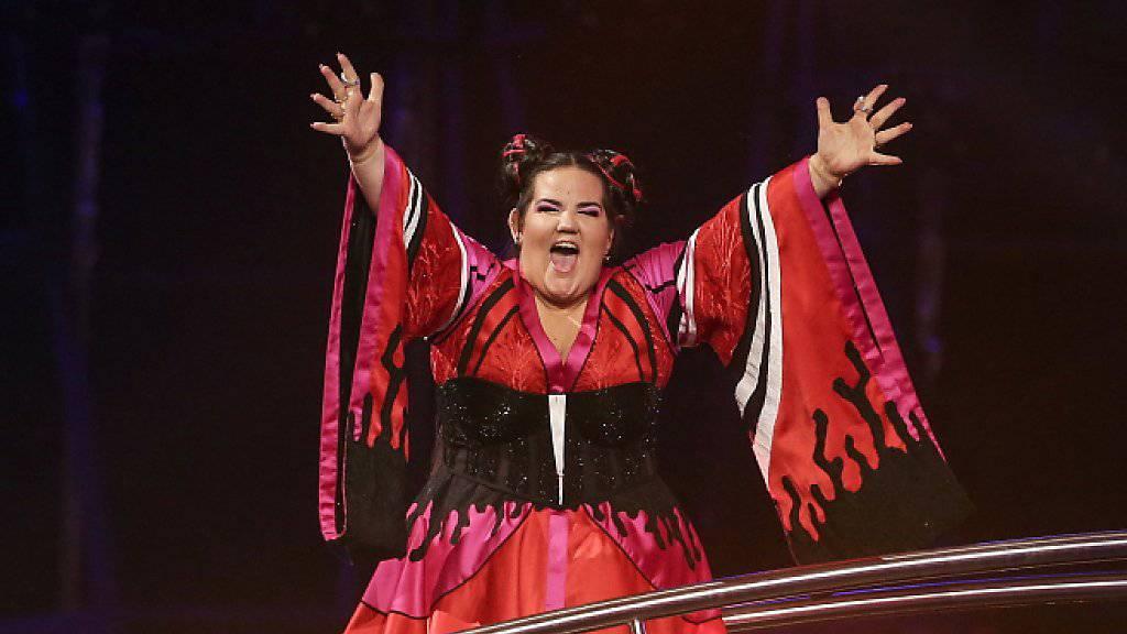 Die Israelin Netta hat den 63. Eurovision Song Contest in Lissabon gewonnen: Nachdem sie immer wieder auf Vorbehalten gestossen ist, sei dies ein grosser Sieg gewesen. (Archivbild)