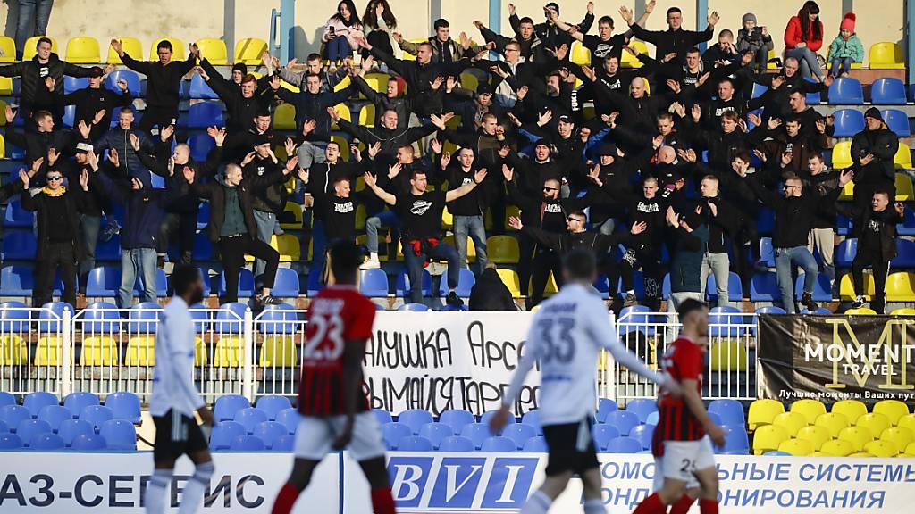 Gewerkschaft zeigt sich über Liga-Alltag in Weissrussland besorgt