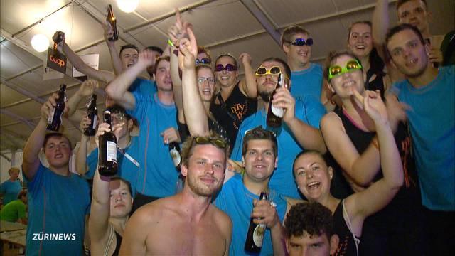 Wissen zu feiern: Eine Partynacht am Turnfest