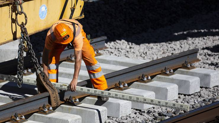 Der Bundesrat will insgesamt 14,4 Milliarden für den Erhalt der Bahninfrastruktur investieren.