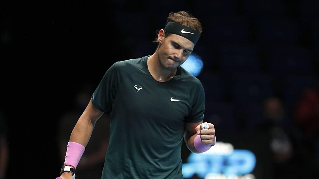 Rafael Nadal zieht in den Halbfinal ein