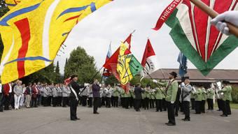 19. Solothurner Kantonalmusikfest: Die Parade krönte das Musikfest doch noch.