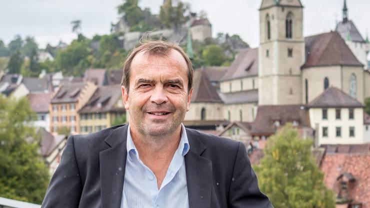 SP-Stadtratskandidat Jürg Caflisch möchte den frei werdenden Sitz von Daniela Berger verteidigen.Sandra Ardizzone