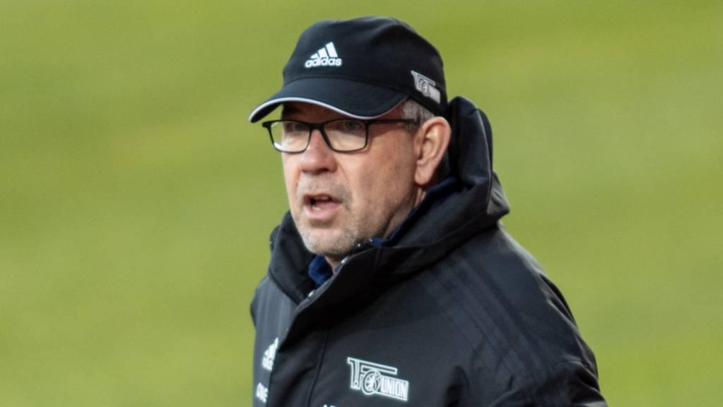 Urs Fischer sah keine Tore gegen den Aufsteiger Arminia Bielefeld.