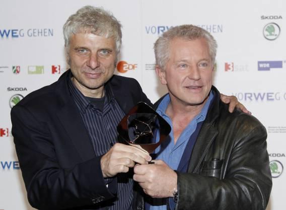 Udo Wachtveitl als Hauptkommissar Franz Leitmayr und Miroslav Nemec als Hauptkommissar Ivo Batic.