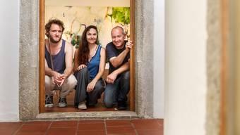 Von links: Jakob F. Rieder, Nathalie Papatzikakis, Franco Müller stellen gemeinsam aus.