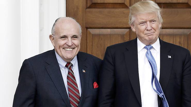Rudolph Giuliani, der persönliche Anwalt von US-Präsident Donald Trump, gerät in der Ukraine-Affäre zunehmend unter Druck. (Foto: Peter Foley/ EPA Keystone)