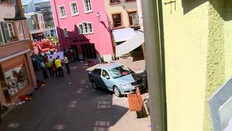 Anfangs Mai rast ein Rentner in Bad Säckingen in ein Strassencafé. Jetzt ist klar: Er hatte das Brems- mit dem Gaspedal verwechselt. Wie geht es mit ihm weiter?
