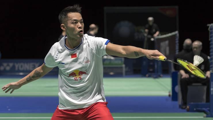 Der beste Badminton-Spieler der Welt: Der Chinese Lin Dan.