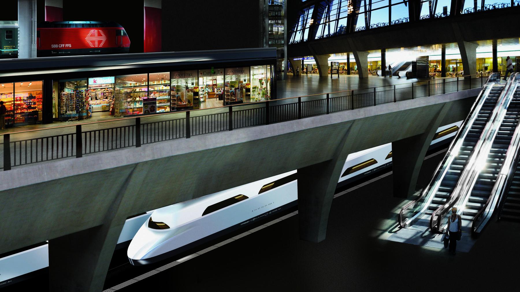FABI-Vorlage ist wichtig für den Tiefbahnhof Luzern