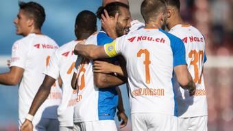Die Grasshoppers können gegen Lugano wieder jubeln