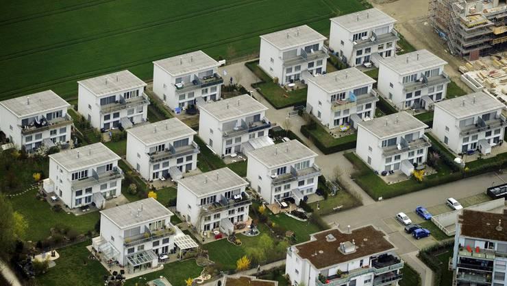 Für Einfamilienhäuser-Besitzer könnten die Hypotheken auch im Aargau steigen.