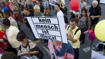Sans-Papier Protest: Kein Mensch ist illegal