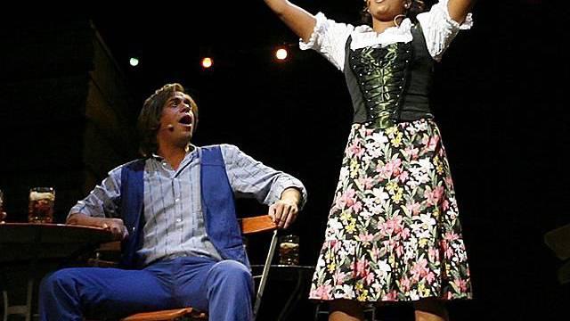"Szene aus dem Musical ""Ewigi Liebi"" (Archiv)"