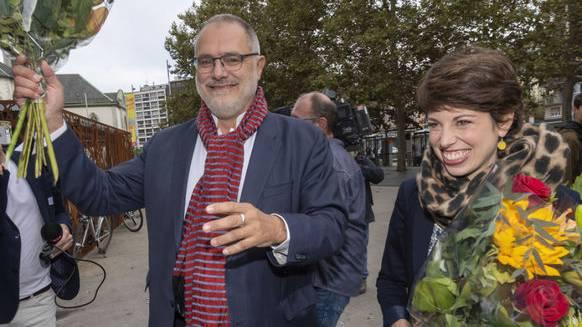 Profitierten wohl von der zerstrittenen Rechten in Genf: Carlo Sommaruga (SP) und Lisa Mazzone (Grüne).
