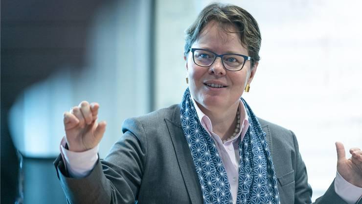 Marianne Wildi, CEO der Hypothekarbank Lenzburg und Fintech-Pionierin: «Wir bekennen uns zur Region, verändern uns jedoch mit unseren Kunden.»