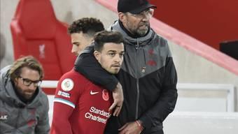Liverpool-Coach Jürgen Klopp hat Freude an den Leistungen von Xherdan Shaqiri