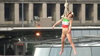 Die Femen-Protestaktion in Paris.