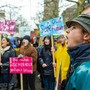 Nicht nur auf der Strasse, sondern auch im Grossratsgebäude wollen die Aargauer Klimademonstranten aktiv werden. Chris Iseli