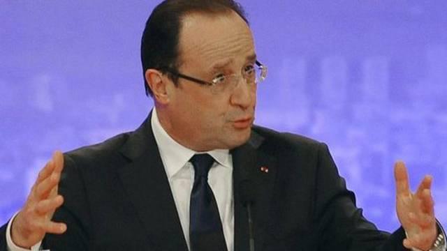 Frankreichs Präsident François Hollande wird erneut mit schlechten Nachrichten konfrontiert (Archiv)