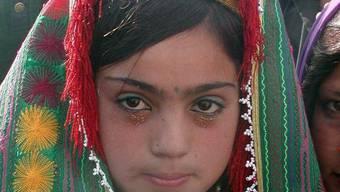 Eine zwölfjährige, afghanische Braut (Symbolbild)
