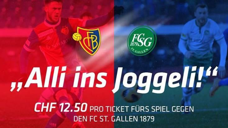 Zum Jubiläum «125 Joor FCB» bietet der FC Basel Tickets für nur 12.50 Franken an.