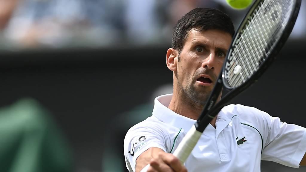 Novak Djokovic: in Tokio selbstredend der erste Goldmedaillenanwärter