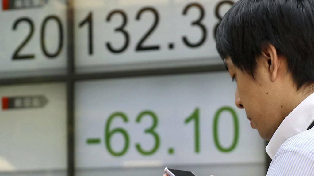 Zahlen mit dem Smartphone ist auch für Finanzinvestoren interessant (Archiv).